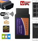 obd scan tool iphone - Wifi/Bluetooth OBD2 OBDII Car Diagnostic Scan Tool Scanner for iPhone Android KZ