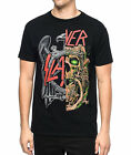 Slayer Split Black Men's T-Shirt Tee Top Fashion Rock Band Metal Music Tour NWT image