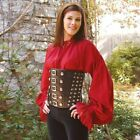 Pirate Ladies Red Shirt Perfect For Re-enactment Stage LARP & Costume
