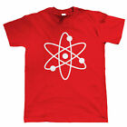 Atom Mens Hipster T Shirt - Physics Gift for Dad Him
