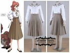 Sailor Moon Jupiter Kino Makoto School Uniform Sailor Suit Cosplay Costume dress