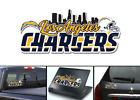 Los Angeles Chargers Bumper Window Vinyl Decal 8x3.5 $5.00 USD on eBay