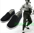 Chinese Kung Fu Martial Art Ninja Shoes Slip On RUBBER Sole-Canvas Slippers 2018