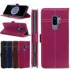 Genuine Leather Wallet Card Holder Flip Case cover for Samsung Galaxy S9  Plus