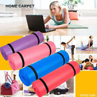8MM Non Slip Yoga Mat Exercise Workout Fitness Physio Pilates Gym Cushion Thick