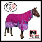LOVE MY HORSE 600D 5'3 - 6'6 Waterproof Rainsheet Combo Horse Rug Rasb / Check