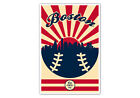 Boston Red Sox Vintage Baseball Poster on Ebay