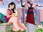 New Halloween Mulan Cosplay Costume Dress Full Set Party Outfit Women Adult UK