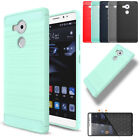 Shockproof Carbon Fiber Brushed Case Cover For Huawei P8 P9 Lite/Mate 8 9/ 5X 6X