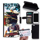 PIN-1 Anime Overlord Phone Wallet Flip Case Cover for Huawei