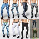 skins tights men - Men Sports Apparel Skin Tights Compression Base Under Layer Workout Long Pants