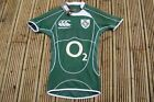 CANTERBURY IRELAND  HOME TEST S/S Rugby Union Shirt Adults Jersey SMALL MENS