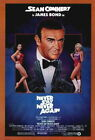 66219 Never Say Never Again Movie ean Connery Wall Print Poster CA $12.95 CAD on eBay