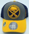 NHL Buffalo Sabres Reebok Adult Structured Fit Max Curved Brim Cap Hat NEW