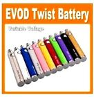 EVOD~Twist~1100mAh Battery~Vape~Pen~3.3- 4.8~ Voltage-Variab