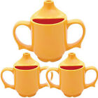 Dignity Adult Yellow Feeding Cup - Triple Pack