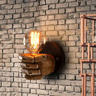 New Industrial Wall Sconce 1 Light Wall Lamp Wall Light Fixture with Hand Shaped