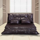 Modern Foldable Sofa Bed Leisure Adjustable Video Gaming Sofa with 2 Pillows