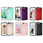 Hybrid Anti-Dust Shockproof Rubber Protective Case Cover for iPhone 7 / 8 Plus'