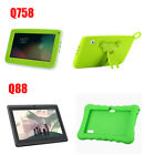 7inch Google Android 4.4 Quad Core 3G WiFi Dual Camera 8GB Kids Tablet PC+Case