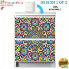 Furniture STICKERS FOR Ikea MALM Chest of Drawers 2 self-adhesive Decals Vinyl 2