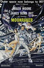 65439 Moonraker Movie Roger Moore, Lois Chiles Wall Print Poster UK £13.95 GBP on eBay