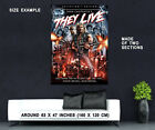 72420 THEY LIVE 1988 John Carpenter Rowdy Roddy Piper Wall Print Poster UK