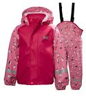 Helly Hansen Kids Unisex Bergen Aop Pu Rainset