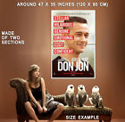70011 Don Jon Movie Gordon-Levitt Wall Print Poster Plakat