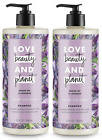 Love Beauty And Planet Shampoo or Conditioner,  Argan Oil & Lavender 22 oz each