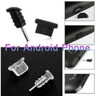Anti-Dust Plug Guard Headphone Charger Port Cover For Android Mobile Phone Lot