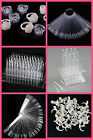 Nail Polish Display Pop Sticks Stand Practice UV Gel Polish Tips Ring Wheel