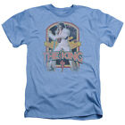 Elvis Presley DISTRESSED KING Licensed Adult Heather T-Shirt All Sizes