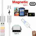 TYPE C MAGNETIC Charging Cable Magnet Adapter Charger for Samsung Galaxy S8 Plus