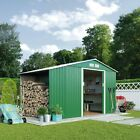 Waltons Metal Sheds Log Stores Garden Storage Apex / Pent Style Multiple Sizes