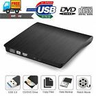 2018 Ultra Slim Portable USB 3.0 External DVD RW CD Drive Burner Reader Player