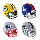 BRXLZ  NFL Football Helmet 3-D Puzzle Building Blocks  * Pick Your Team * $26.5 USD on eBay