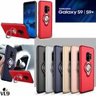 For Samsung Galaxy S9 / S9 Plus Holder Case Magnetic Suction Ring Car Kickstand