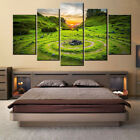5 pieces Wall Art Picture HD-skye-united-kingdom for living