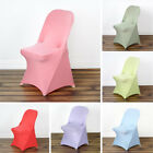 10 Spandex Folding Chair Covers Stretchable Fitted Wedding Party Decorations