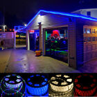 50' FT LED Rope Light 110V Party Home Christmas Outdoor Xmas Lighting Festival