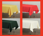 Внешний вид - LinenTablecloth 60 x 102 in.Rectangular Polyester Tablecloth Wedding Event Party