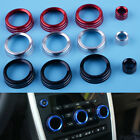 Dashboard Air Vent A/C Volume Knob Button Cover For Land Rover Discovery Sport