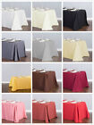 LinenTablecloth 90 x 132 in. Rect Poly Tablecloths, 33 Colors! Wedding Event