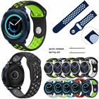 Silicone Sport Wrist Band Watch Strap For Samsung Gear S3 Classic Frontier 22mm image