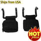 POWER WEIGHT LIFTING TRAINING GYM STRAPS HOOK BAR WRIST SUPPORT LIFT WRAP PAIR