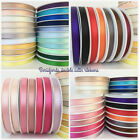 Berisfords Double faced satin ribbon 3mm, 7mm, 10mm & 15mm 35 colours