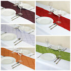 "20 pcs 12x108"" PINTUCK TABLE RUNNERS Fancy Wedding Party Catering Linens SALE"