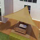 SUN SAIL SHADE - TRIANGLE CANOPY COVER-OUTDOOR PATIO AWNING (11.5'x11.5'x11.5')