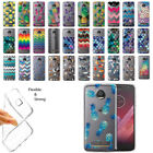 For Motorola Moto Z2 Play 2nd Gen 2017 Pineapple Clear Soft Gel TPU Case Cover